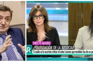 Losantos teme que Irene Montero haya puesto en el punto de mira a Ana Rosa Quintana