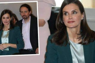 Pablo Iglesias se traga otro sapo real: su presencia junto a Letizia viraliza un viejo vídeo