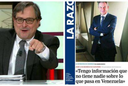 'Marhuendadas': Zapatero lava la cara a Nicolás Maduro y a Delcy Rodríguez en una infame entrevista en La Razón