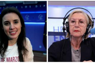 Rosa Díez lanza un airado ultimátum a Irene Montero tras poner en la diana a la Policía