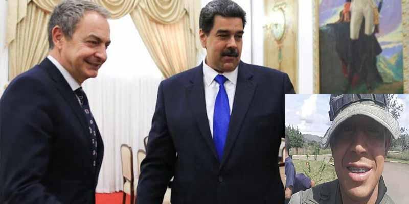 Toma nota, ZP: el chavismo tortura y asesina a un militar acusado de sublevación contigo en el país