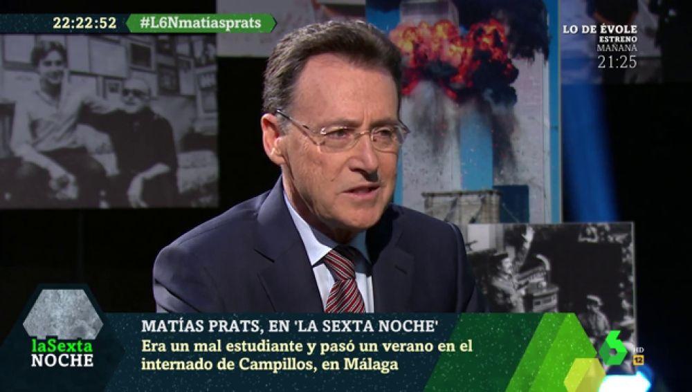 Matías Prats revela la razón 'secreta' por la que no tiene redes sociales