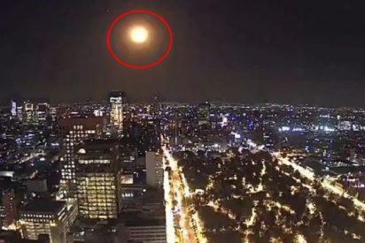 Meteorito: una 'inmensa bola de fuego' recorre el cielo de Ciudad de México