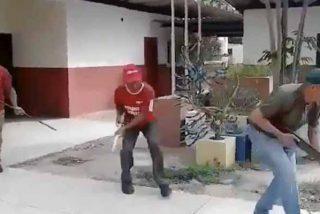 El ensayo militar de las milicias chavistas para acabar con Estados Unidos... y para partirse de risa