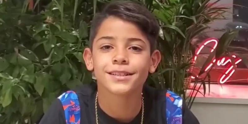 El hijo de Cristiano Ronaldo se estrena en Instagram y en 24 horas consigue lo imposible