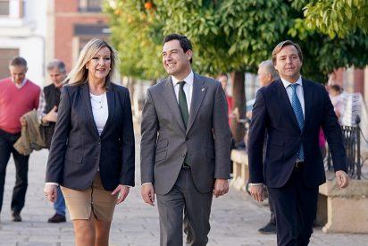 Moreno se compromete con los Municipios del interior de Andalucía