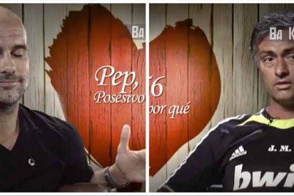 San Valentín: Las atrevidas confesiones amorosas entre Guardiola y Mourinho en 'First Dates' 💘