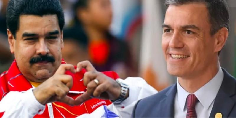Sánchez al servicio de Maduro: intentó que Macron y Merkel no recibieran a Guaidó