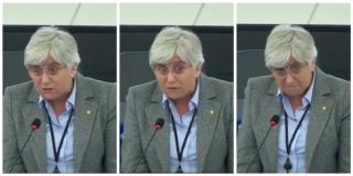 La prófuga Clara Ponsatí se estrena en el Parlamento Europeo con esta 'perla':