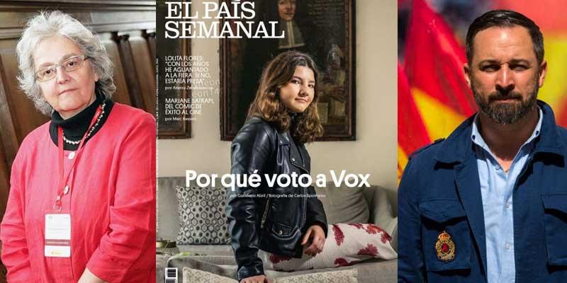 La izquierda más sectaria ahora la toma con la oficial: el reportaje de 'El País Semanal' sobre los votantes de VOX es tachado de «propaganda ultra» y «blanqueamiento de la ultraderecha»