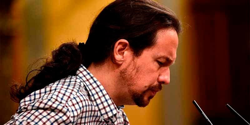 """Pablo Iglesias se pierde la constitución de la """"mesa de la traición"""" por amigdalitis"""