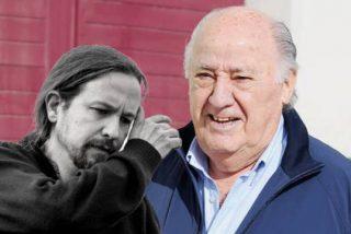 Amancio Ortega 'desenfunda' sus datos fiscales para destrozar a Podemos y su 'cruzada' contra los ricos