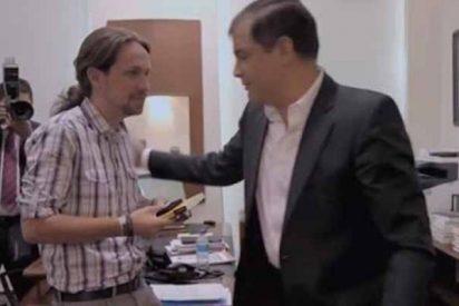 Ecuador pide la captura internacional del expresidente Rafael Correa, el 'amiguete' de Iglesias y Monedero