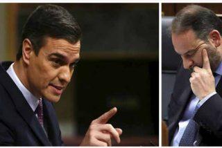 Mentiroso pero no tonto: Sánchez avisa a Ábalos en pleno Senado que será él quien se enfrente a la Justicia
