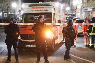 Alemania: al menos 11 asesinados a balazos en dos ataques contra bares en Hanau, cerca de Fráncfort
