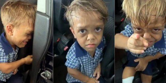Quaden, el niño con enanismo víctima de bullying que pedía que lo matasen, recibe el apoyo de todo el mundo tras subir su madre el video a internet