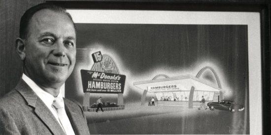 Ray Kroc, el vendedor de batidoras que ideó un modelo de negocio que hizo de McDonald's un gigante global