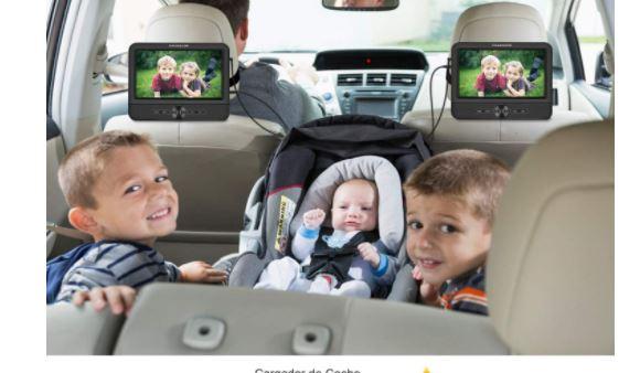 Reproductores de DVD para coche más vendidos en Amazon 2021