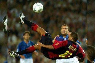 Rivaldo se lanza al agua y propone al brasileño