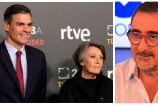 Carlos Herrera 'descuartiza' a Pedro Sánchez y a RTVE por