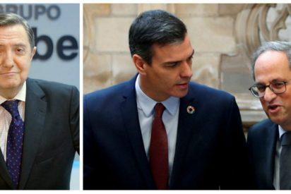 """Losantos ve a Sánchez """"carne de prisión"""" tras el grotesco espectáculo montado por Iván Redondo"""