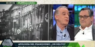 Ignacio Cembrero huye como un conejo cuando Marhuenda le pregunta si la apología del comunismo debería ser delito