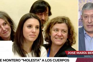 El Quilombo / Un policía pone a caer de un burro a Irene Montero: