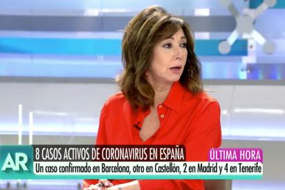 El Quilombo / Ana Rosa avisa de que ella no se sube a un avión sin mascarilla... ¡y que sea de Swarovski!