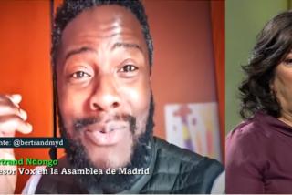 Almudena Grandes da la razón a Ndongo, el 'negro de VOX': insulta a Abascal y está amargada