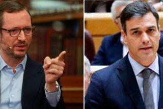 Javier Maroto humilla a Sánchez ante el Senado por el 'Delcygate':