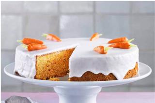 Tarta zanahoria suiza