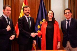 Casado impone a Alonso el acuerdo con Ciudadanos en el País Vasco con la marca 'PP+Cs'