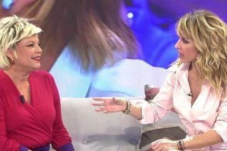 Emma García se pone cachonda y confiesa a Terelu lo desea respecto al sexo
