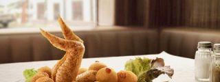 Cocina cómica: merluza de cerdo, bacalao de ternera, picadillo de cerdo virgen a la constantinopolitana y mojama al chantilly