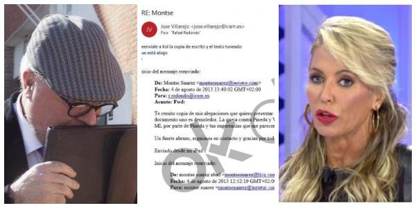 Montse Suárez, azote de la corrupción y las cloacas, redactaba escritos en el BBVA al dictado del comisario Villarejo
