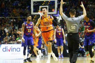 El Barcelona cae estrepitosamente ante el Valencia Basket y le dice adiós a la Copa del Rey