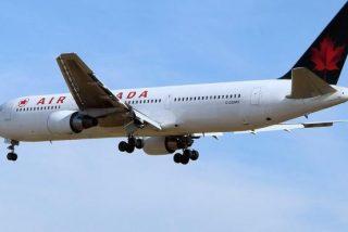 Última hora: Pánico en Madrid por un avión de Air Canadá que vuela 'rozando' los edificios