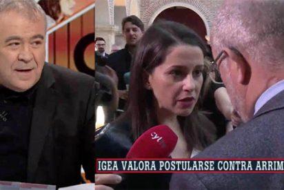 """Ferreras, exultante con el encontronazo ante las cámaras de Arrimadas e Igea: """"¡No se soportan!"""""""