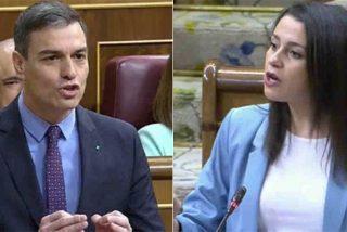 Arrimadas 'corta el dedazo' en el Congreso a 'colocaciones' Sánchez:
