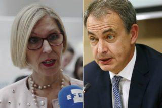 Beatriz Becerra le pinta la cara a Zapatero: