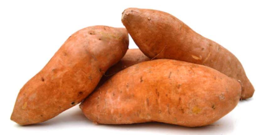 asar boniatos o batatas en el microondas,