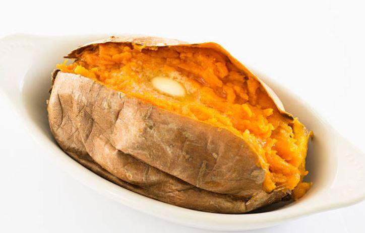 asar boniatos o batatas en el microondas