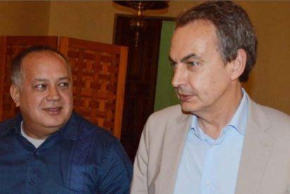 Diosdado Cabello deja con el 'culo al aire' a Zapatero: