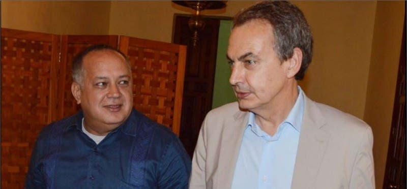"""Diosdado Cabello deja con el 'culo al aire' a Zapatero: """"Para nosotros, la CIDH no existe"""""""