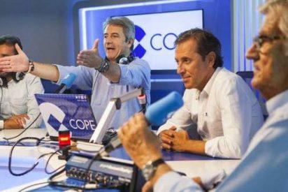 El equipo de Deportes de COPE se va al completo con Carlos Herrera para dar la exclusiva del siglo