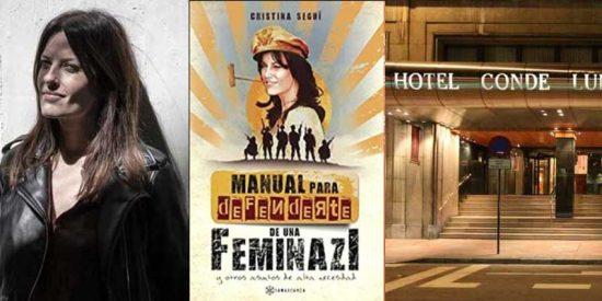 """Un hotel leonés cede a las extorsiones y cancela la presentación del libro de Cristina Seguí: """"Su director ha recibido amenazas por parte de las feministas"""""""