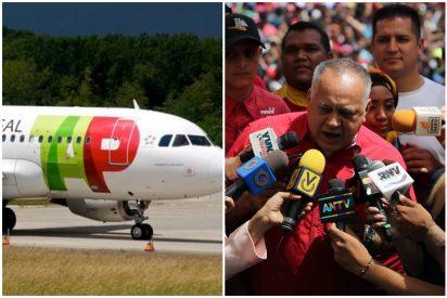 El ataque chavista a TAP Air Portugal: una 'bomba de humo' para ocultar el secuestro al tío de Juan Guaidó