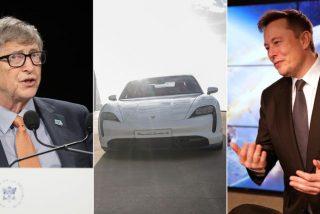 Musk, regaña en público a Bill Gates por comprar un Porsche eléctrico