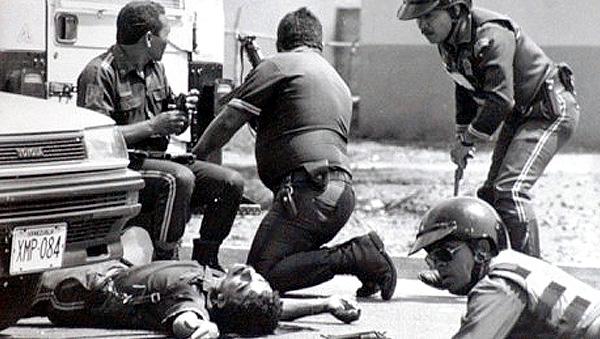 4F: Las fotos del fallido y sanguinario golpe de Estado de Hugo Chávez
