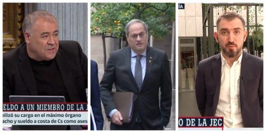 El Quilombo / Ferreras y su caniche Escolar blanquean al delincuente Torra: